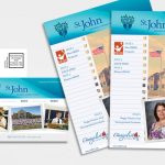 print design brochures, booklet, and postcards