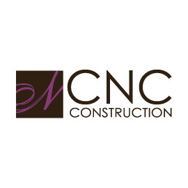 CNC Construction, woman owned, logo design