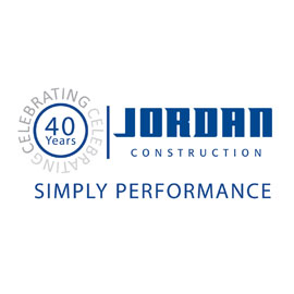 Jordan Construction, logo design