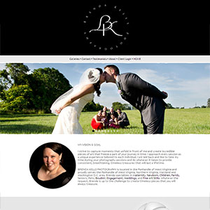 Photography Website Design by Jessie Lynn Images